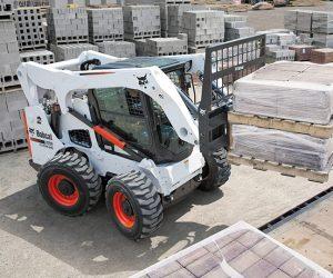 A770 Bobcat Kompaktlader Anbaugeraet Palettengabel