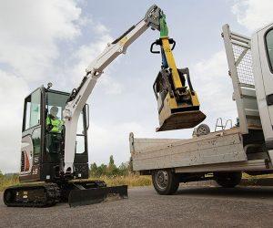 E19 Bobcat Kompaktbagger Anbaugeraet Lasthaken