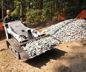 Mt55 Bobcat Kompaktraupen Anbaugeraet Schaufel