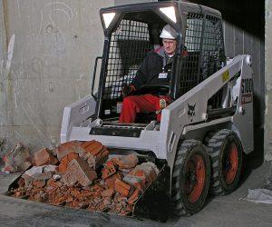 S100 Bobcat Kompaktlader Anbaugeraet Schaufel