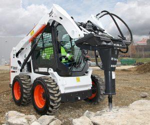S510 Bobcat Kompaktlader Anbaugeraet Abbruchhammer First