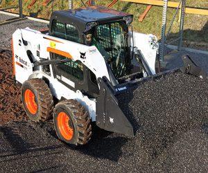S510 Bobcat Kompaktlader Anbaugeraet Mehrzweckschaufel 3