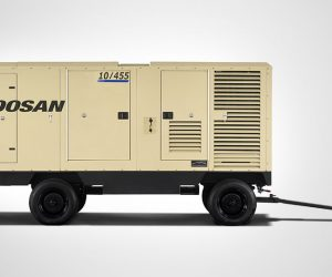 10 455 Doosan Portable Power Kompressoren First
