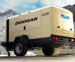 12 154 Doosan Portable Power Kompressoren First