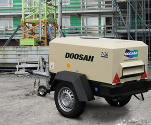 7 20 Doosan Portable Power Kompressoren First