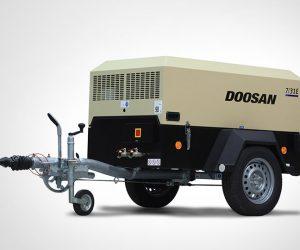 7 31e Doosan Portable Power Kompressoren Fist