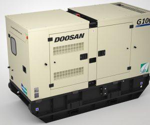 G100 Doosan Portable Power Generatoren 1