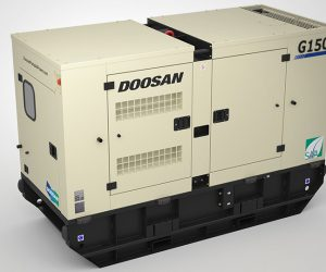 G150 Doosan Portable Power Generatoren First