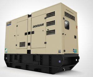 G200 Doosan Portable Power Generatoren First