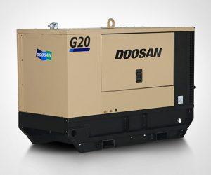 G20 Doosan Portable Power Generatoren First