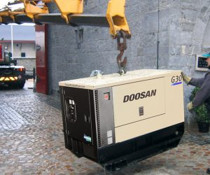G30 Doosan Portable Power Generatoren First