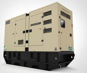 G400 Doosan Portable Power Generatoren First