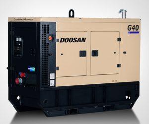 G40 Doosan Portable Power Generatoren 1