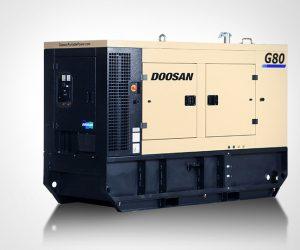 G80 Doosan Portable Power Generatoren First