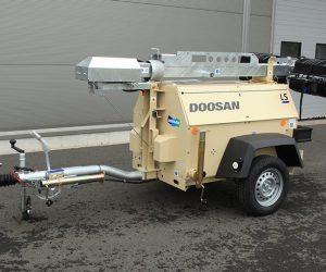 Lt6 Doosan Portable Power Lichtmast First