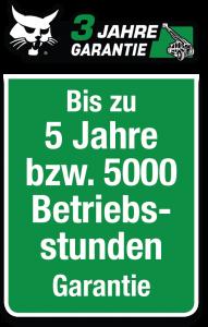 Muller Maschinen 3 Jahre Garantie