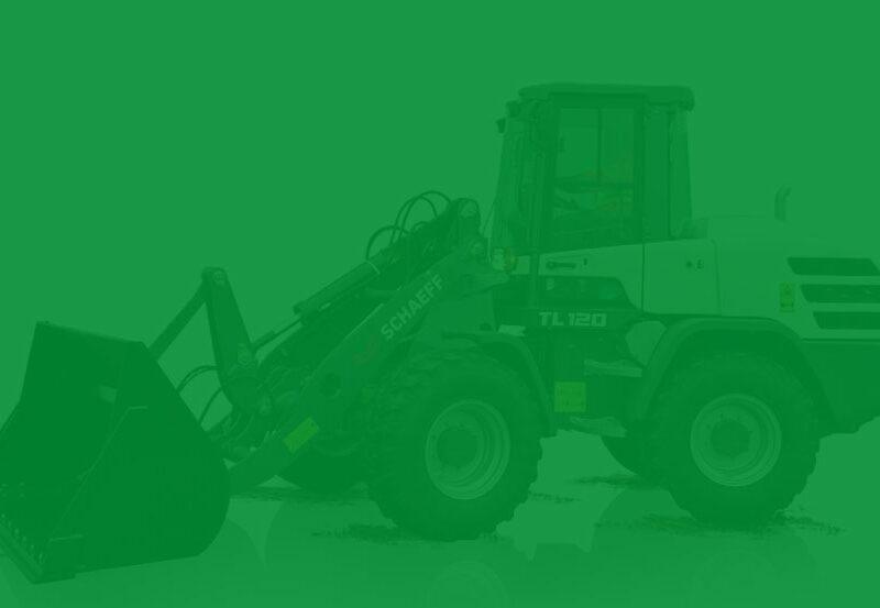 Schaeff TL120 Green